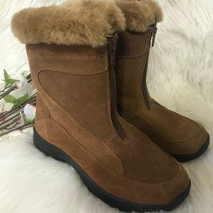 Polar Edge Brown Suede Boots